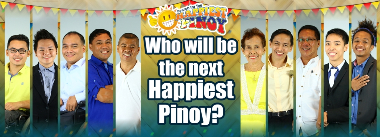 Happiest Pinoy Banner